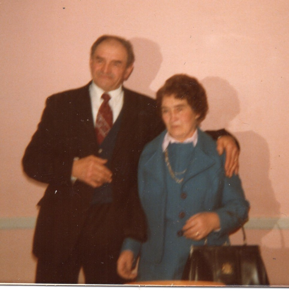 Grands parents guillard francis et marie en 1980